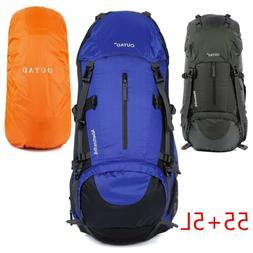 60L Camping Travel Rucksack Trekking Outdoor Backpack Hiking