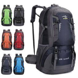 60L Large Men Women Camping Backpack Outdoor Sport Hiking Tr