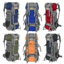 60L Outdoor Camping Travel Rucksack Backpack Climbing Hiking