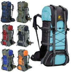 60L Sports Backpack Camping Travel Climbing Hiking Rucksack