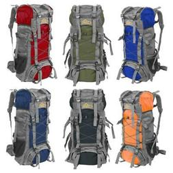 60L Unisex Outdoor Camping Backpack Travel Bag Climbing Ruck