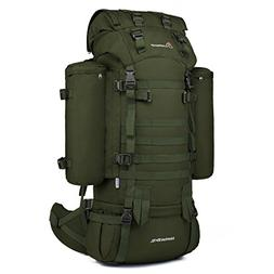 Mardingtop 65+10L Internal Frame Backpack with Rain Cover fo