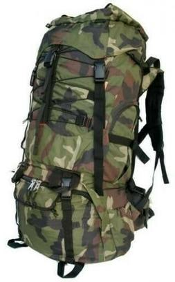 7000ci Internal Frame Camping Hiking Backpack NEW Camo Large