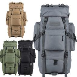 70L Large Outdoor Sports Backpack Internal Frame Climbing Ba