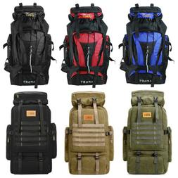 70L Outdoor Camping Hiking Climbing Mountaineering Backpack
