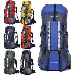 80L+20 Waterproof Outdoor Camping Travel Hiking Bag Internal