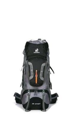 80L Camping Hiking Backpacks Big Outdoor Bag Backpack Nylon