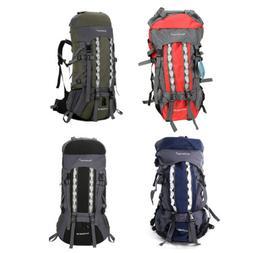 80L Camping Luggage Rucksack Waterproof Internal Frame Backp