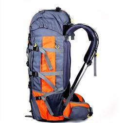 80L Large Outdoor Backpack Camping Travel Hiking Bag Rucksac