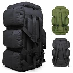 90L Large Military Tactical Backpack Outdoor Camping Trekkin