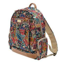 A47.Disney Mickey Mouse Women Backpack Travel School Laptop