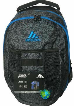 ADIDAS DELUXE BLACK Atkins MEDIUM Backpack LARGE CAPACITY LA