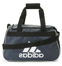 Adidas CORE Diablo Duffel SMALL Bag BLACK GRAY WHITE LOGO ZI