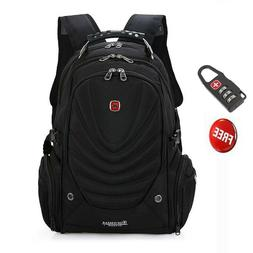 Black 15.6' Swiss Gear Backpack Computer Laptop School Bag M