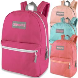 Case of 24 Wholesale Trailmaker Classic 17 Inch Backpacks in