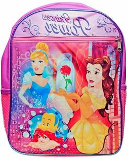 Disney Beauty and The Beast Princess Belle Backpack Girls Sc