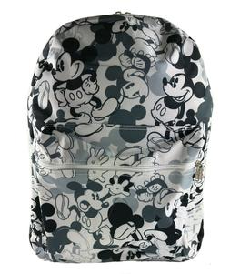 Disney Mickey Mouse Large School Backpack Mono All Over Prin
