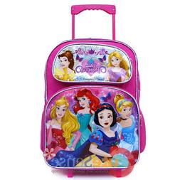 Disney Princesses Princess Rolling Backpack for Kids School