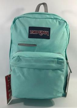 JanSport Digibreak Backpack - Aqua Dash / 16.7H x 13W x 8.5D