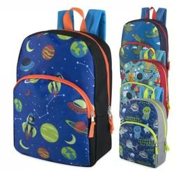 Lot of 24 Wholesale 15 Inch Character Backpacks for Boys in