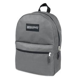 Lot of 24 Wholesale Trailmaker 17 Inch Backpacks, Gray