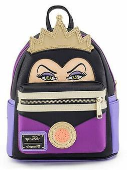 Loungefly - Disney EVIL QUEEN Villain ~ Mini Faux Leather Fa