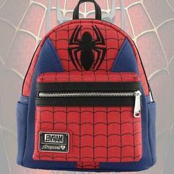 Loungefly - Disney Marvel - SPIDER MAN SUIT Mini Faux Leathe
