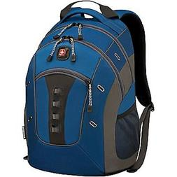 "NEW Wenger SwissGear GRANITE Blue 16"" Laptop Backpack Tablet"