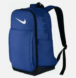 Nike Brasilia XL Backpack Color Royal Blue / Black