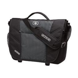 OGIO 417015 - Diesel Grey Upton Laptop Messenger Bag, Diesel