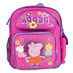 """Peppa Pig 12"""" Kids' Backpack - Peppa and Friends"""