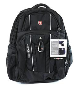 Swiss Gear - Laptop and Tablet Backpack With USB Cable Integ
