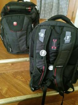 Swiss Gear SA1923 Black TSA Friendly ScanSmart Laptop Backpa