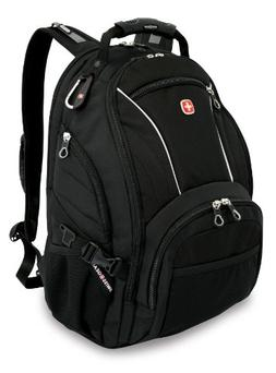 Swiss Gear SA3181 Black Computer Backpack - Fits Most 15 Inc