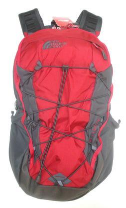 The North Face Borealis Rage Red Ripstop/Asphalt Grey Backpa