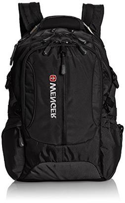 Wenger SA1537 Black Laptop Computer Backpack - Fits Most 15