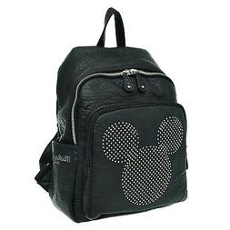 A143.Disney Mickey Mouse Stud Women Backpack Travel School B