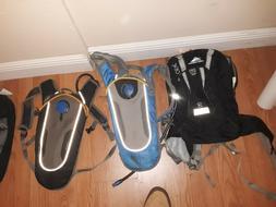 High Sierra Access Backpacks - Black/Black