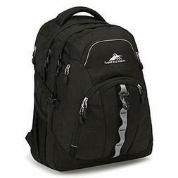 High Sierra Access II Laptop Backpack, Black