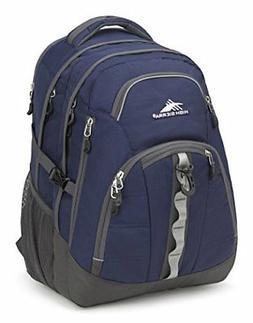 High Sierra Access II Laptop Backpack, True Navy/Mercury FRE