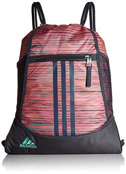 adidas Alliance II Sackpack, Green, One Size