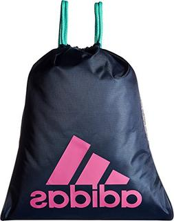 adidas Burst sackpack, Green/Bahia Magenta, One Size