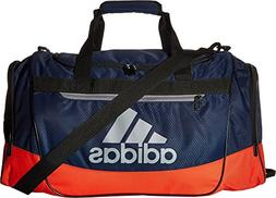 adidas Defender III Duffel Bag, Collegiate Navy/Red, Medium