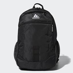 adidas Foundation Backpack, Black/White, One Size