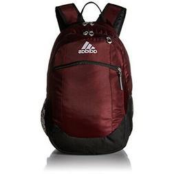 adidas Striker II Backpack, Maroon/Black/White, One Size
