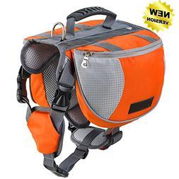 Lifeunion Adjustable Service Dog Supply Backpack Saddle Bag