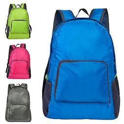 Adults Unisex Waterproof Backpacks Rucksack Travel Camping D