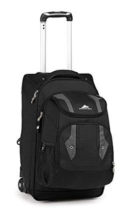 High Sierra Adventure Access Carry On Wheeled  BACKPACK with