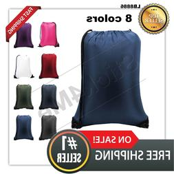 ALL NEW Liberty Bags Drawstring Bag Large Backpack 8886  on