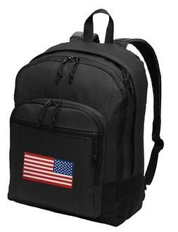 American Flag Backpack CLASSIC Style USA Flag Backpack Lapto